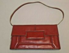 Nine West Small Red Handbag Purse with detachable strap