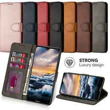 For Nokia 5.3 Wallets Case Leather Wallet Protection Heavy Duty Book Cover Stand