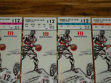 NBA Tickets Vintage Portland Trail Blazers Ticket Stub Lot #12 D Stoudamire 1998