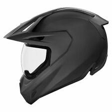 Icon Variant Pro Full Face Dual Sport Motorcycle Helmet - Rubatone Matt Black