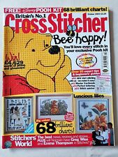 Cross Stitcher Magazine #139 Oct 03~Winnie The Pooh Free Kit~Luscious Lilies