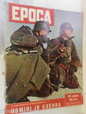 EPOCA 19 maggio 1957 Seconda Guerra Mondiale Trotsky Zingales tesoro di Dongo di