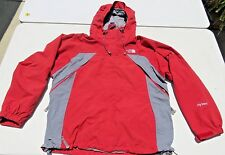 Womens NORTH FACE Red Hyvent Hooded Waterproof Ski Snow Skirt Jacket Large
