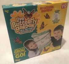 Insect Lore Butterfly Bug Garden Live Educational Learn Science Toy Kit Learning