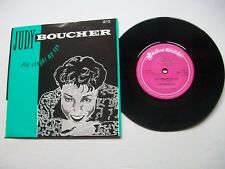"""Judy Boucher - You Caught My Eye - 1987 UK 7"""" 45 Single In Picture Sleeve M-/EX+"""
