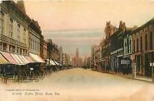 Texas, TX, Waco, Austin Street 1905 Postcard
