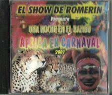 El Show De Romerin Una Noche En El Bambu Africa En Carnival Latin Music CD New