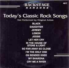 Today's Classic Rock  Songs Karaoke Backstage Vol. 4617 CD+G New and Sealed