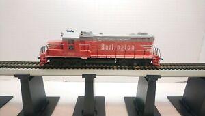 Tyco HO Train Burlington Route EMD GP20 Powered Diesel Locomotive