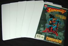 """(300) CXNS11WH40 White Comic Book Full Dividers Cards Economical 7""""x11"""" 40 Mil"""