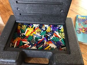 Large Knex Bundle In Original Storage Box and Instructions, Retro Toys