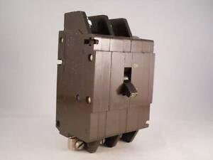 Crabtree C50 MCB 60 Amp Type C 60A Triple Pole 3 Phase Breaker C-50 53/60