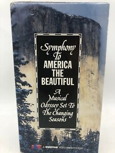 Symphony to America The Beautiful The Changing Seasons VHS Tape Boxed Set 1994