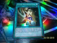 Super Rejuvenation 1st Edition Super Rare LCJW-EN287 Yu-Gi-Oh!