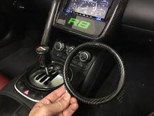 Audi R8 Carbon Fiber OEM Shifter Trim Ring Surround Garnish