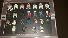 Disney D23 Expo 2019 Star Wars Industrial Automaton 25 Droid Pin Set New w Box
