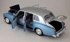 Kyosho Rolls Royce Phantom VI Light Blue w/Silver 1:18 Brand New!*NICE!!