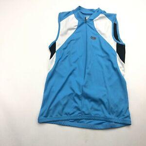 Louis Garneau Women's Cycling Jersey Beeze 2 Sleeveless Blue 2XL