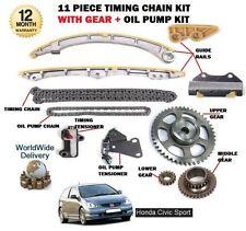 für Honda Civic 2.0 Typ S K20A3 EV1 2001- > Steuerkette +Getriebe+Ölpumpe Satz