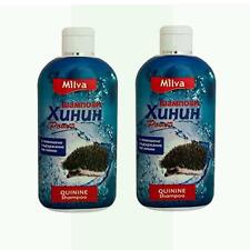 2 x Milva shampoo mit Chinin für Haarwachstum 200ml Versand aus Deutschland