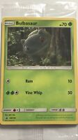 "Bulbasaur ""Detective Pikachu"" Pokémon Card Movie Promo SM198 - FREE SHIPPING"