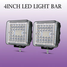 "2PCS 4"" INCH 1768W LED Light Bar Spot Flood Driving Lamp Truck For JEEP FORD SUV"