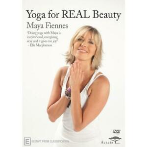 YOGA For REAL Beauty DVD HEALTH EXERCISE FITNESS BRAND NEW WORLWIDE Region 0