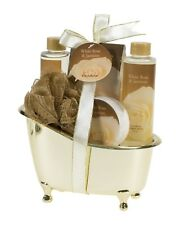 Luxurious & Elegant Bath Gift Set Women By Freida Joe Deluxe White Rose + GIFT