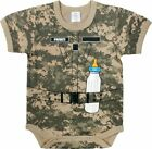 12-18 month Baby Infant One Piece SOLDIER Digital Camo Shower Gift Rothco 67097