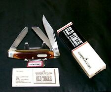 "Schrade 89OT Old Timer Knife The Blazer USA Made 4"" Closed W/Packaging,Papers"