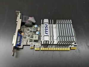 MSI Nvidia GeForce 210 Graphics Card (512 MB DDR3, x16, N210-MD512D3H/LP)