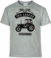 T-Shirt,Renault 751,Traktor,Schlepper,Bulldog,Oldtimer