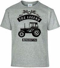 tee-Shirt,Renault 751,Tracteur,Tracteur,Bulldog,Vintage