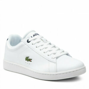 Lacoste MEN'S CARNABY BL SNEAKERS WHITE/NAVY 41SMA0002042