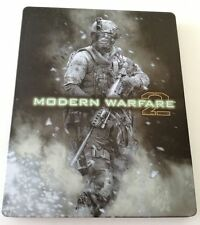 CALL OF DUTY MODERN WARFARE 2 STEELBOOK MW2 PLAYSTATION 3 PS3 METAL BOX +ARTBOOK
