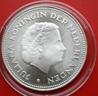 Niederlande 10 Gulden 1970 Silber KM# 195 PP-Proof #F 0862