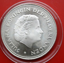 Niederlande-Netherlands: 10 Gulden 1970 Silber, KM# 195, PP-Proof, #F0862