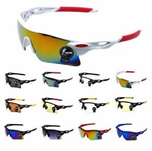 Mens Ladies Cycling Biking Driving Riding Running Golf Outdoor Sports Sunglasses