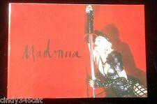 Madonna Rebel Heart Tour 2015 Limited Edition Commemorative Album Book RARE