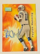 """2000 Skybox Peyton Manning Colts """"The Bomb"""" Insert #7 of 10 B"""