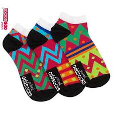 Trainer Liner Socks for Her in Size 4-8 by United Oddsocks