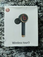 New Beats by Dr. Dre Wireless Tour3 In Ear Headphones Bluetooth Earbuds - Black