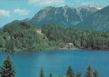 Farb-Ansichtskarte vom Freibergsee bei Oberstdorf   (278)