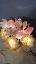 Light Up Assorted Floral Arrangement In Vase