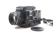 Mamiya M645 Super Medium Format SLR Film Camera with 80mm Lens + Extras -BB
