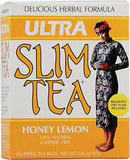 Ultra Slim Tea Honey Lemon by Hobe Laboratories, 24 tea bag