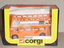 "CORGI 1/64 Scale - ROUTEMASTER NO C469. (46930) ""TDK ""  TAPE CASSETTES (ORANGE)"