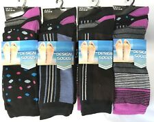 12 Pairs Mens Adults DESIGNER Cotton Formal Suit Socks UK 6-11 EU 39-45 M10778