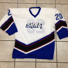 "Vintage Shaft Hockey Jersey ""Pebler"" On Back - Sz XL - Made in Canada"