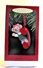 1993 Hallmark Keepsake Ornament Girl Bear Granddaughter Annual Collectible